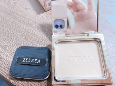 ZEESEAメタバースピンクシリーズ アストロダストパウダーファンデーション/ZEESEA/パウダーファンデーションを使ったクチコミ(2枚目)