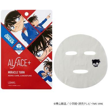 ALFACE+(オルフェス)公式アカウントさんの「ALFACE+(オルフェス)名探偵コナン×オルフェス ミラクルターン(江戸川コナン)<パック・フェイスマスク>」を含むクチコミ