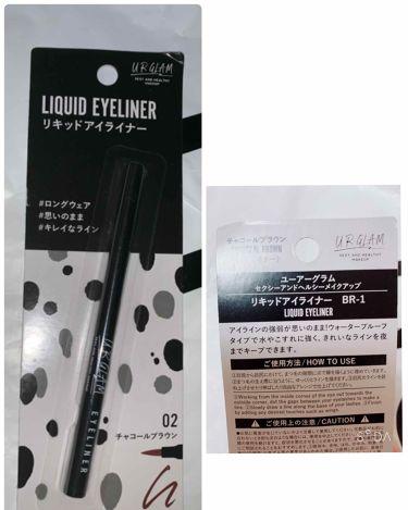 UR GLAM LIQUID EYELINER(リキッドアイライナー)/URGLAM/リキッドアイライナーを使ったクチコミ(4枚目)