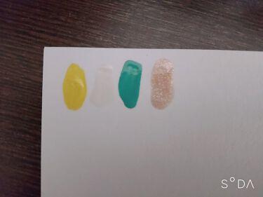 【画像付きクチコミ】🧚♀️ティンカーベルネイル🧚♂️今回は私の大好きなティンカーベルネイルチップを作ってみました!ネイルシールはSHEINで購入したものです✨ネイルカラーは緑💚白🤍黄色💛金のキラキラ✨使いました!あまりティンカーベル見えないかもしれま...