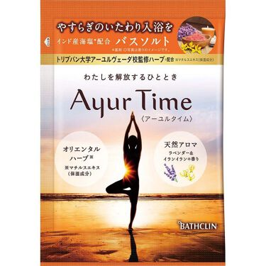 Ayur Time(アーユルタイム) ラベンダー&イランイランの香り 40g