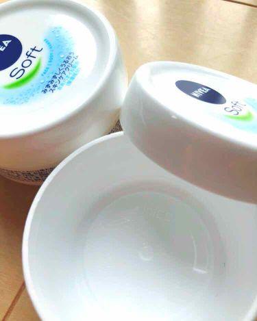 ❁︎癒雨❁︎さんの「ニベアニベアソフト スキンケアクリーム<ボディクリーム・オイル>」を含むクチコミ