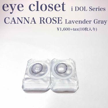 eye closet iDOL Series CANNA ROSE 1day/EYE CLOSET/カラーコンタクトレンズを使ったクチコミ(2枚目)