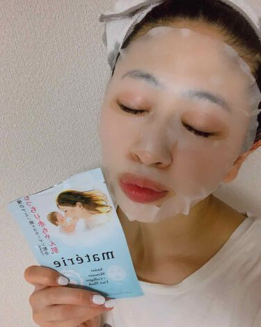 Facemask/materie/シートマスク・パックを使ったクチコミ(2枚目)