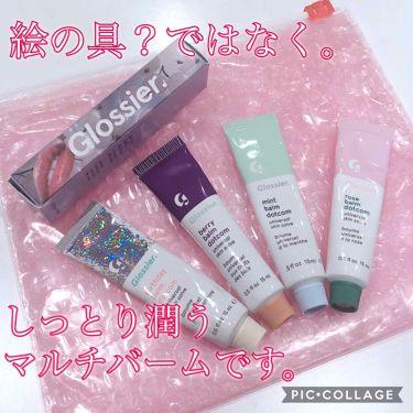 Glossier cherry balm dotcom/Glossier./リップケア・リップクリーム by おもち