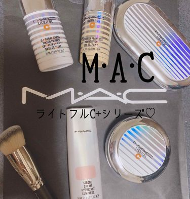 ライトフルC+ナチュラリーフローレスSPF35ファンデーション/M・A・C/リキッドファンデーションを使ったクチコミ(1枚目)