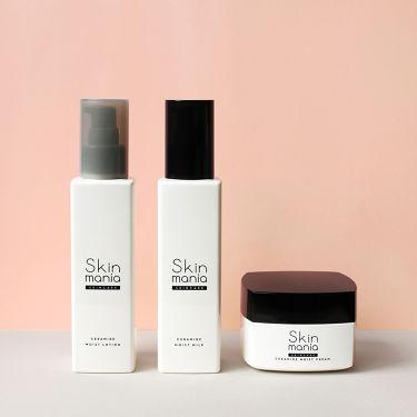 Skin mania公式アカウントさんの「スキンマニアSkin mania セラミド 保湿ミルク<乳液>」を含むクチコミ