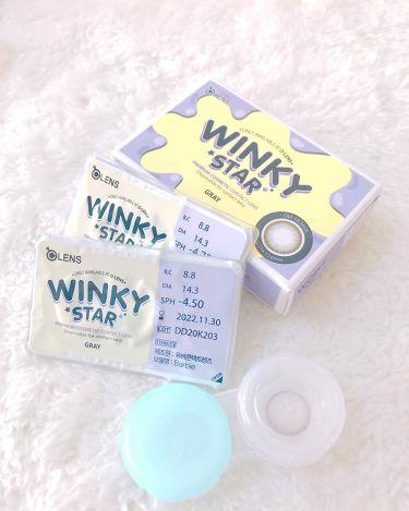 ウィンキースターグレー(Winky star Gray)/POPLENS/その他を使ったクチコミ(3枚目)