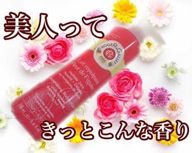 フィグパフューム ボディローション/ロジェ・ガレ/ボディローション・ミルクを使ったクチコミ(1枚目)