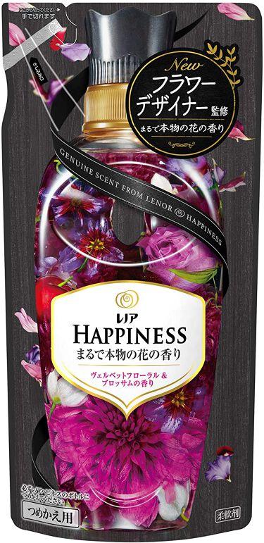 レノアハピネス ヴェルベットフローラル&ブロッサムの香り つめかえ430ml