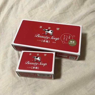 杏奈さんの「カウブランドカウブランド 赤箱 (しっとり)<ボディ石鹸>」を含むクチコミ
