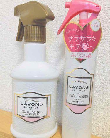 ラボン for CECIL MACBEE セシルマクビー ファブリックミスト ラブリーシック/ラボン ルランジェ/香水(その他)を使ったクチコミ(1枚目)