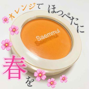 シングルブラッシャー/the SAEM/パウダーチーク by 🍑ももも🍑