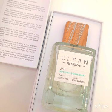 CLEAN-reserve- ウォームコットン/CLEAN RESERVE(クリーン リザーブ)/香水(レディース)を使ったクチコミ(1枚目)