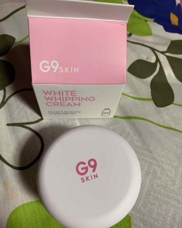 WHITE WHIPPING CREAM(ウユクリーム)/G9/フェイスクリームを使ったクチコミ(2枚目)