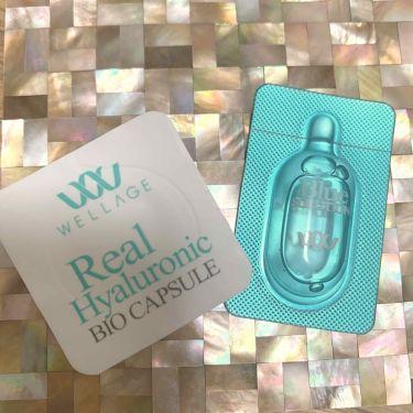 リアルヒアルロニック バイオカプセル&ブルーソリューション/Wellage/美容液を使ったクチコミ(3枚目)