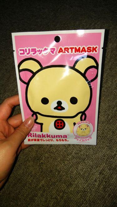コリラックマアートマスク/Pure Smile/シートマスク・パックを使ったクチコミ(1枚目)