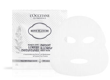 2020/2/19発売 L'OCCITANE レーヌブランシュ イルミネイティングシートマスク