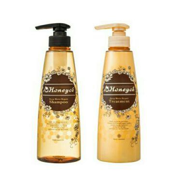 りりりりりさんの「Honeyce'(ハニーチェ)ディープモイストリペア シャンプー/トリートメント<シャンプー・コンディショナー>」を含むクチコミ