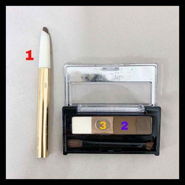 ビューティートリックアイブロー/インテグレート/アイブロウペンシルを使ったクチコミ(3枚目)