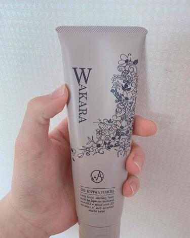 練り石けん和から/WAKARA (和から)/洗顔フォームを使ったクチコミ(2枚目)