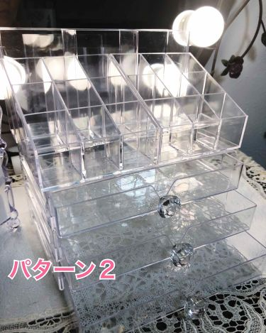 コスメケース (長方形)/DAISO/その他を使ったクチコミ(2枚目)