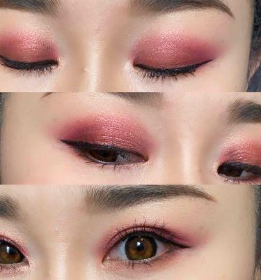 Birthday 2018 Pallet/Kylie Cosmetics/パウダーアイシャドウを使ったクチコミ(2枚目)