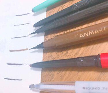 アイライナーペンシル/CANMAKE/ペンシルアイライナーを使ったクチコミ(2枚目)
