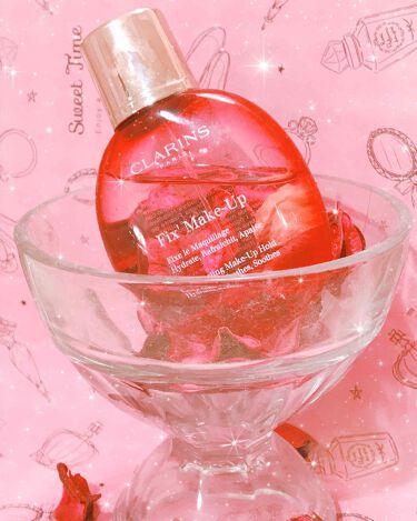 フィックス メイクアップ/CLARINS/ミスト状化粧水 by まなてぃー