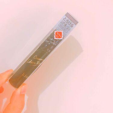 クリーミィシアールージュ/kiss/口紅を使ったクチコミ(1枚目)