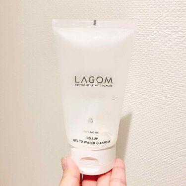 ジェルトゥウォーター クレンザー/LAGOM /その他洗顔料を使ったクチコミ(3枚目)