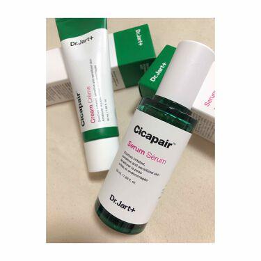 Dr.Jart cica pair serum/Dr.Jart+(ドクタージャルト)/美容液を使ったクチコミ(1枚目)