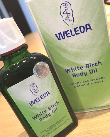 ホワイトバーチボディオイル/WELEDA/ボディクリーム・オイルを使ったクチコミ(1枚目)