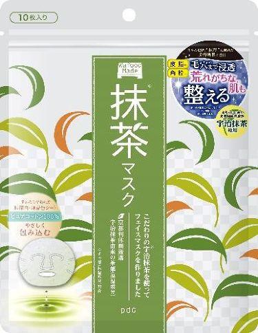 2020/3/24発売 pdc ワフードメイド 宇治抹茶マスク