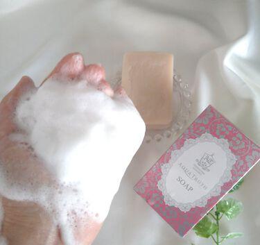 薔薇はちみつ石鹸/麗凍化粧品/洗顔石鹸を使ったクチコミ(2枚目)