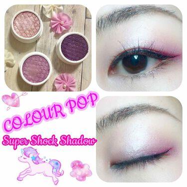 super shock shadow/ColourPop(カラーポップ)/パウダーアイシャドウを使ったクチコミ(1枚目)