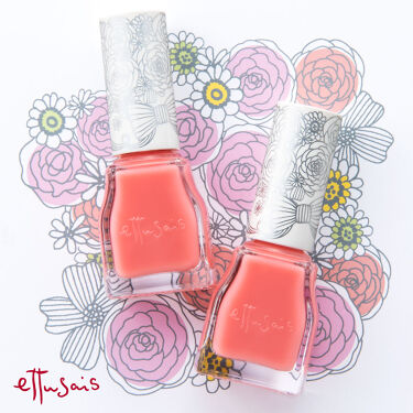 1本でネイルカラー&トップコート効果。 塗るだけで、簡単に指先美人に。 ぷっくりとした厚みがあり、ツヤやかに仕上げる 速乾性の高い「ジェルカラーコート」から、  幸せいっぱいの花嫁さんのネイルカラーをイメージした、 マリアージュピンクを、限定発売! http://www.ettusais.co.jp/items/g03261/