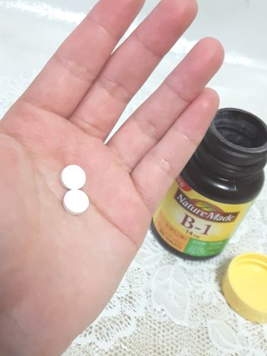 ビタミンB1/ネイチャーメイド/健康サプリメントを使ったクチコミ(3枚目)