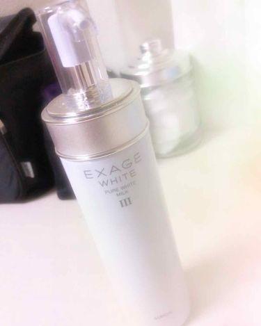 エクサージュホワイト ピュアホワイト ミルク III/ALBION/乳液を使ったクチコミ(1枚目)