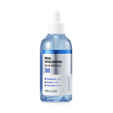Real Hyaluronic Blue Ampoule100 Wellage