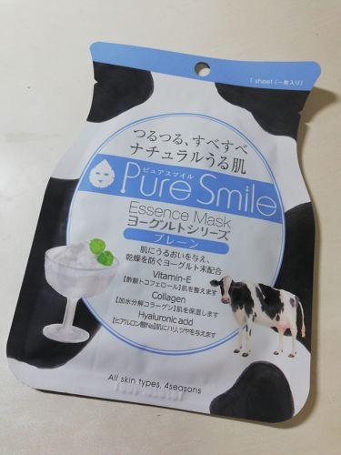 ヨーグルトシリーズ プレーン/Pure Smile(ピュアスマイル)/シートマスク・パックを使ったクチコミ(2枚目)