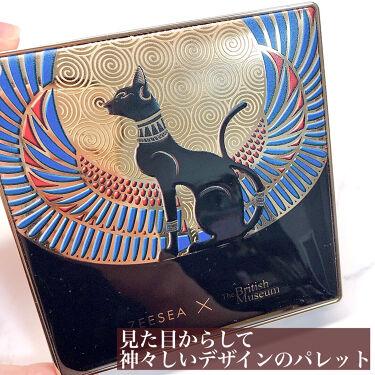 ZEESEA × 大英博物館 エジプトシリーズ  アイシャドウパレット (16色)/ZEESEA/パウダーアイシャドウを使ったクチコミ(2枚目)