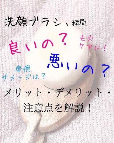 ごくやわ洗顔ブラシ/DAISO/その他スキンケアグッズ by ぷりも