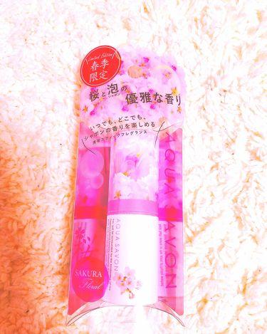 アクアシャボン サクラフローラルの香り/アクアシャボン/香水(レディース)を使ったクチコミ(2枚目)