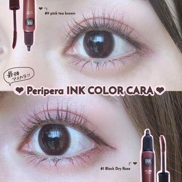 インク カラーカラ/PERIPERA/マスカラを使ったクチコミ(1枚目)