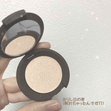 Shimmering Skin Perfector® Pressed Highlighter Mini/BECCA/パウダーチークを使ったクチコミ(2枚目)