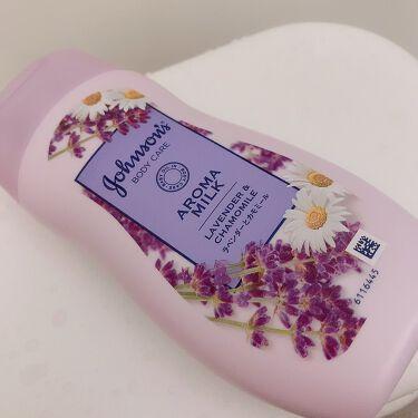 【画像付きクチコミ】ジョンソンボディケアドリーミースキンアロマミルク٩(๑❛ᴗ❛๑)۶うん、良い匂い。安定のクリーミー感!!伸びがよくてスーッと肌に浸透保湿。期待を裏切らないジョンソンボディケア