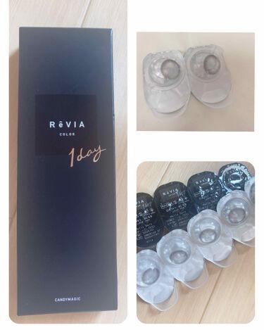 ReVIA 1day/ReVIA/カラーコンタクトレンズを使ったクチコミ(2枚目)