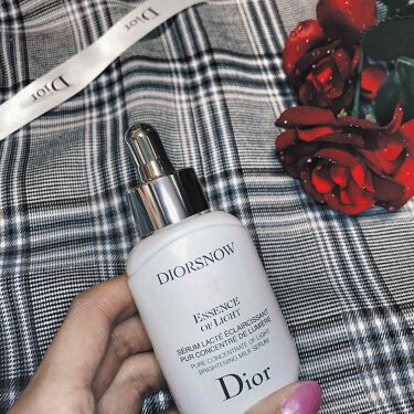 スノー エッセンス オブ ライト (医薬部外品)/Dior/美容液を使ったクチコミ(1枚目)