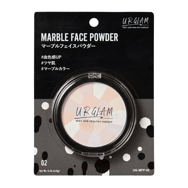 URGLAM UR GLAM MARBLE FACE POWDER(マーブルフェイスパウダー)